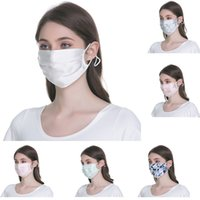 2020 hot Breathable Silk Sunscreen Face Mouth Mask Summer Th...