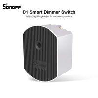 SONOFF D1 DIY Wifi переключатель Интеллектуальный диммер Выключатель света 433Mhz RF управляемый коммутатор с помощью eWeLink APP Google Home Alexa