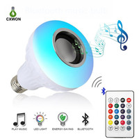Smart Bulb E27 12W Wireless Bluetooth Speaker Lighting Bulb ...