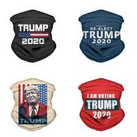 2020 Trump Triangle magischer Schal US-Präsident Trump Wahl Bandana Multifunktionale Sport Fahrradschlauchkopfbedeckung Gesichtsmasken DDA401