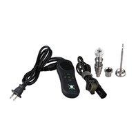 Portable Quartz E Nail Box Kit Top vente ongles électrique plate-forme dab vaporisateur cire numérique mini-enail pour barboteur d'eau ecig