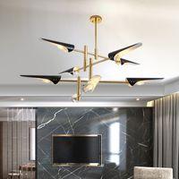 Replica Delightfull Coltrane hanging light lamp bird wing nordic Europe dinning living foyer post modern LED