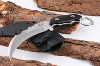 LW cuchillo cresta de la garra de la garra karambit formación plegable cuchillo de caza cuchillo de supervivencia al aire libre de 04.893