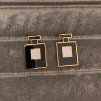 2020 Gold Silber Rose Top Quality Classic Design Runde Einfache 18K Ohrstecker Titanium Stahl Ohrringe für Frauen Schmuck Großhandel
