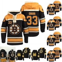 37 Patrice Bergeron Boston Bruins Jersey 33 Zendo Chara 40 Tuukka Rask 63 براد مارشاند 88 ديفيد باسترنك Hoodeis