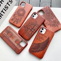 Verde Natural real madeira de madeira capa para Samsung Galaxy S20 Ultra S10e S10 S9 Plus Nota 9 8 note20 Ultra Case Capa Telefone Shell Pele Bag