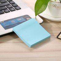 6 Farben drucken Notizblock Notiz Haftnotiz Papier Schule und Büro Starke Viskosität leicht zu bedienen