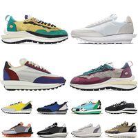 Nike Sacai LDV X Waffle vaporwaffle klobig Dunky Tagesanbruch ldv Waffel Spiel Royal Außenluft Mens weiß grau Luxus Schuhe der Frauen Turnschuhe sports Turnschuhe laufen