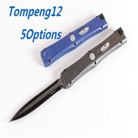 Nemesis S30 5 Modelli Maniglia opzionale Hunting Pieghevole Pocket Knife Survival Knife Regalo di Natale per gli uomini Copie Au Matic A07 A16 A161 A162 A163