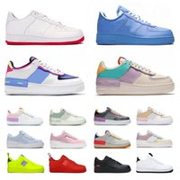 Schuhe air force 1 off white mca forces one just do it Laufschuhe airforce shadow AF Authentic Sports Sneakers Flat Low für MOMA Black Outdoors Turnschuhe für Herren