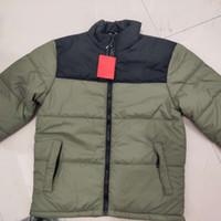Mens Giù cappotto lettere stampate giacche casual Hiphop Bomber 2020 nuovo modo parka per la vendita all'ingrosso di Aisan Size