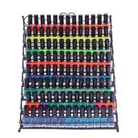 Coeur Noir Step-Step-Risers à ongles à ongles, plus de 100 bouteilles de vernis à ongles Stockage, affichage de l'organisateur de table