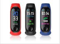 M3 intelligente Blood Band Fitness Tracker pression Podomètre moniteur de fréquence cardiaque intelligent Bracelet Wristband pour IOS Android