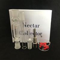 kit néctar Collector con aceite domeless cuarzo del clavo de 10 mm 14 mm 18 mm colector néctar Plataformas Tubos de agua tubo de vidrio en stock DHL libre