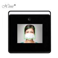 Système de reconnaissance du visage 2,8 pouces écran tactile WIFI Mesure de la température de la température du visage Employé de l'employé Dynamique Temps dynamique
