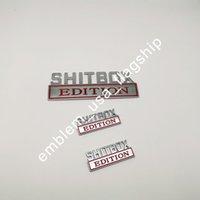 1PC 7 '' مخصصة SHITBOX EDITION الشارات شعار الشحن مجانا