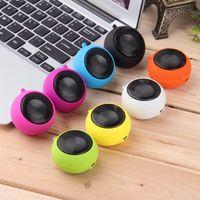 Mode söt mini hamburger högtalare mp3 högtalare spelare bärbar utomhus 3,5 mm trådbunden abs ljudlåda för dator mobiltelefoner