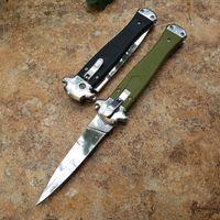 lado cobra ação único aberto ferramenta de auto defesa tático bolso dobrar EDC faca de caça facas de campismo bolso auto faca 18392