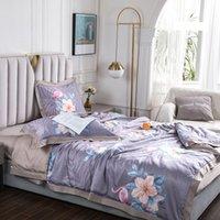 Comforters Set Seta Cool Summer Quilt Florals Aria condizionata Piumino Piumino Duvet Lavabile Viaggi NAP Coperta Coperta Copriletto Proprietà Adulti Letto