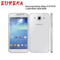 تم تجديد Samsung Galaxy Mega I9152 المزدوج SIM 5.8 بوصة 1.5 جيجابايت + 8GB ذاكرة مقفلة أندرويد الهاتف