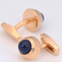 Erkekler için Düğün Hediye Kol Düğmeleri Sıcak satış lüks Kol Düğmesi için Toptan Kristal Kol Düğmeleri Lüks Kol Düğmesi