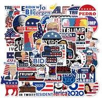 50pcs Aşk Amerika Bayrağı Trump 4 Temmuz Çıkartma Paketi Sigara rastgele Graffiti Araba Bisiklet Bagaj Sticker Laptop Kaykay Su Şişesi Çıkartması