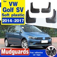 Für Volkswagen VW Golf Sportsvan SV 2014 ~ 2017 Schmutzfängerghoul Fender Schlammschutz Kotflügel Spritzschutz Auto Vorderrad Hinterrad Zubehör
