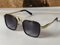 최신 판매 인기있는 패션 디자인 선글라스 0947 스퀘어 플레이트 프레임 최고 품질의 안티 UV400 렌즈 상자