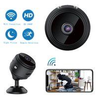 A9 Mini Cámara 1080P Full-HD Cámaras WiFi inalámbrica Cámaras de seguridad de la noche Visión Noche Detectar videocámara DV CAM
