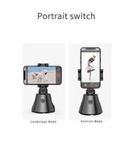 Livre DHL transporte para 360 baterias ° rotação Face Tracking robô inteligente AI Gimbal pessoais 360 ° na horizontal Cameraman acompanhamento