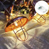 Lampes de Noël LED Cordes ALLUMSHADE 3000K 10 20 LED 30 LEDS Éclairage de vacances pour la décoration de cour extérieure DHL