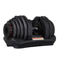 Dumbbell ajustable 5-40kg Séances de fitness Haltères Poids Construire vos muscles Sports Fitness Fournitures Matériel Cyz2685z Envoi de mer
