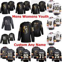 Vegas Golden Knights Edition Ice Hockey Jerseys 90 Robin Lehner Jersey 21 Nick Cousins 23 Alec Martinez Marc-Andre Fleury Mark Stone Personalizzato