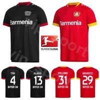 Bayer 04 Leverkusen 2020 2021 Fussball 9 BAILEY Jersey 29 havertz 31 VOLLAND 13 ALARIO 19 DIABY 38 Bellarabi TAH-Fußball-Hemd-Kits