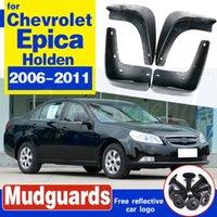 Set de boue pour Rabats Chevrolet Epica Holden 2006-2011 bavettes garde-boue avant boue aileron arrière Garde-boue 2007 2008 2009 2010