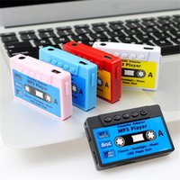 Mini Mp3 Player Portable Cassette Music Player Support 32G Micro TF Card Slot Can Use As USB Flash Dish Ideal Nostalgic Gifts