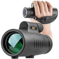 Монокуляр телескоп High Power 8x42 Монокуляры Scope Компактный портативный водонепроницаемый для Наблюдение за птицами Охота Отдых на природе Туризм Travling Wildlife