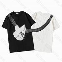 20SS Sac de selle imprimé Femmes Hommes Designer T-shirts homme Mode T-shirt de qualité supérieure coton T-shirts à manches courtes Casual Luxe T-shirts