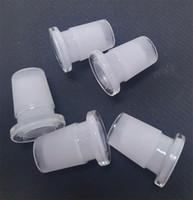 Vente chaude Adaptateur de verre 10mm femelle à 14 mm mâle 14mm femelle à 18 mm mâle deux style à deux styles de buccade à l'adaptateur de bong en verre