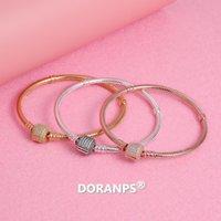 gioielli bracciale di nozze DORANPS designer di gioielli braclet per le donne in argento 925 Gioielli catena del serpente regali