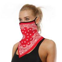 Sjaals Toteme Sjaal Ademend Black Balaclava Gezichtsmasker Headscarf voor Mannen Dames Designer Draag Hoofdband Bandana Cap Gainer