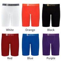 Moda Erkek Şort Yaz Mayo Katı Renk Boksörler Hızlı Kuru Nefes Kısa Pantolon Erkekler Spor Şort Yüzme Becach Boksörler İç