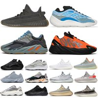 700 V 2  Running Shoes Sneaker GORE-TEX Para sneakers Homens Mulheres Branco Preto Fluorescente Verde Cinza Trainers Outdoor Sports