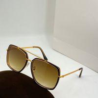 0750 إمرأة نظارات شمس بطريقة بسيطة وشعبية أسلوب الرجعية إطار حماية الرجال للأشعة فوق البنفسجية مع مربع ذات جودة عالية