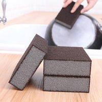 Esponja de plato estropajos Scrub Borrador mágico limpieza de la taza cepillos para limpiar la cocina de múltiples funciones Herramientas esponja de limpieza del hogar
