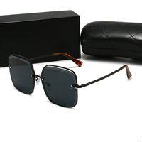 CHANEL CH 0006 óculos de sol da moda óculos de sol óculos de sol de alta qualidade para homem mulher polarizado UV400 lentes de couro caso pano caixa de acessórios, everythi