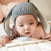 Lovely Rabbit Baby Design Breathable And Warm Hat With Cute ...