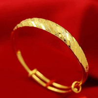 Gypsophila True Gold Bracelet Give Mom Gift