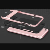 2in1 For iPhone 7 Case For Apple iPhone Xr Xs X 11 Pro Max iPhone7 8 Plus pc+silicone cover case