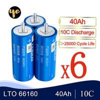 18шт 66160 литий титаната Cell LTO 2.3V 30Ah 35AH 40Ah 25000 Жизненный цикл для 12V 24V 36V 48V DIY батарея